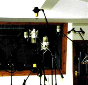 Our secret weapons - good microphones