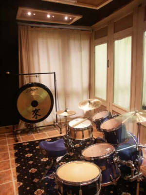 The new drum booth